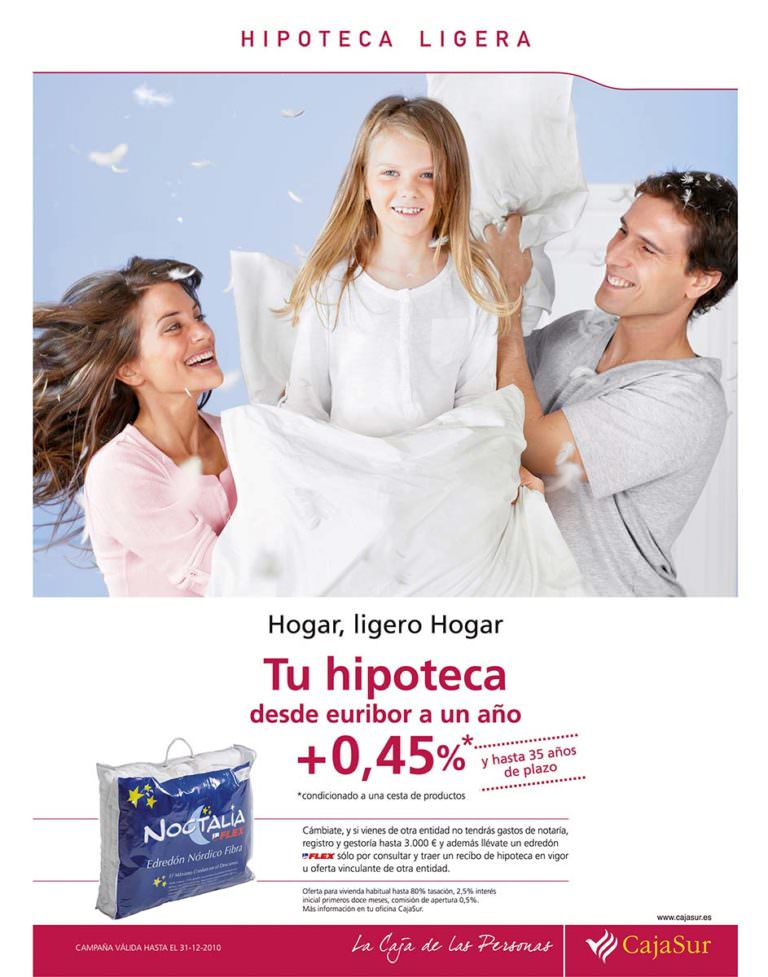 Edredon Nordico Noctalia Flex.Advertising Alberto G Puras